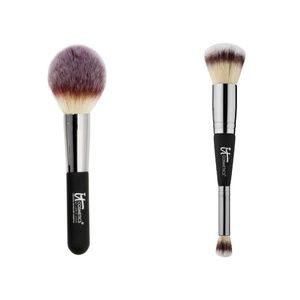 IT Cosmetics Makeup Brushes No 8 & 7